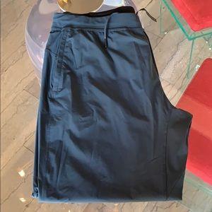 Blue Lululemon joggers size XXL x 28 like new